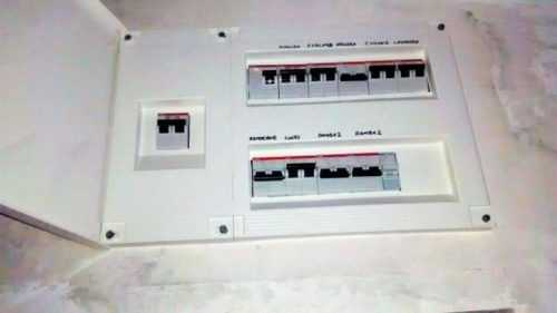 Montaje de cuadro eléctrico